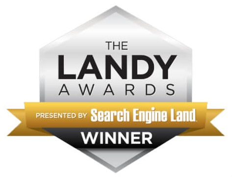 2018 Search Engine Land Landy Award Winner