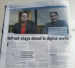 Infront stays ahead in digital world By Bryan Grossman