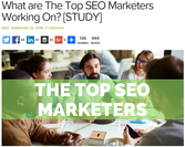 What are The Top SEO Marketers Working On? | Mike Hodgdon
